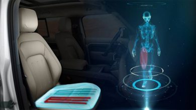 Photo of Jaguar Land Rover's seat of the future