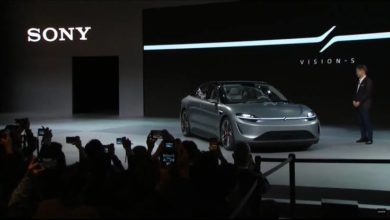 Photo of Sony showcases Vision-S electric concept car at CES 2020
