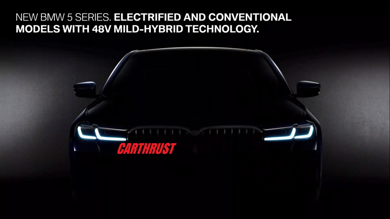 2021 Bmw 5 Series Officially Teased Launch In 2 Weeks Carthrust