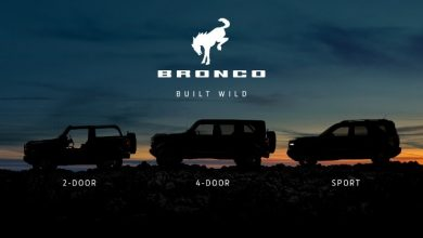 Photo of The 2020 Ford Bronco will be offered in a 2 door/4 door format with 3 trim levels