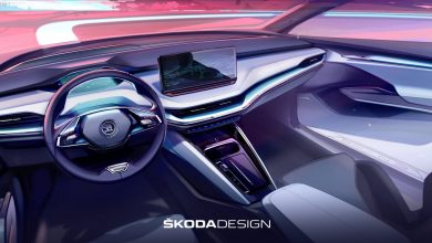 Photo of Back-to-the-Future interiors of the sizzling new Skoda ENYAQ revealed in an interview