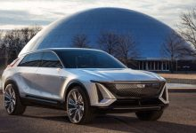 Photo of 2023 Cadillac 'Lyriq' electric SUV revealed