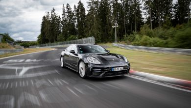Photo of Porsche gives us a glimpse at the 2021 Panamera in their Nurburgring record video