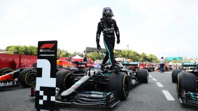 Photo of Yet another P1 for Hamilton as he wins Spanish GP — now has most podiums in history