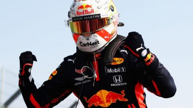 Photo of Max Verstappen bags first win for 2020 as Hamilton equals Schumacher's record of most podium finishes at the 70th Grand Prix