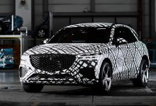Photo of Genesis GV70 compact luxury SUV teased