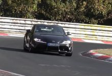 Photo of Toyota's Supra spotted being tested with a new engine?