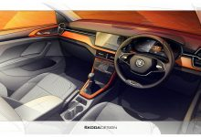 Photo of Skoda reveals interior sketches of the upcoming Kushaq