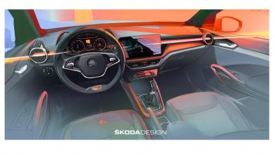 Photo of 2021 Skoda Fabia interior sketches revealed!
