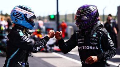 Photo of Bottas takes away Hamilton's historic 100th pole at the 2021 Portuguese GP qualifier